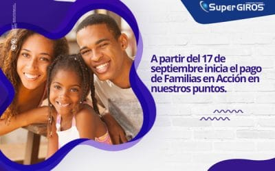 Puntos SuperGIROS están habilitados para el Pago de Familias en Acción