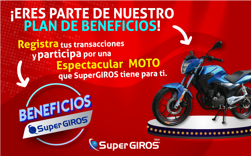 GANA CON EL PLAN DE BENEFICIOS SUPERGIROS